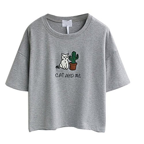 arrowhunt-womens-embroidery-letter-cat-short-sleeves-crop-tops-grey