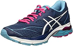 Asics Women's Gel-pulse 8 Competition Running Shoes, Blue, Blu (Poseidonwhitesport Pink), 6.5 Uk