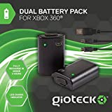 Gioteck Dual Battery Pack (Xbox 360)