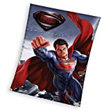 Superman Fleecedecke, Polyester, mehrfarbig, 110x 140x