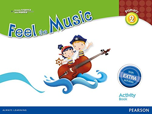 Feel The Music 2. Activity Book Pack - Edición LOMCE (Siente la Música) - 9788420564166 por Fernando Martín de Argenta Pallarés