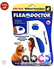AbCD Advanced Soundless Flea Doctor Electronic Comb without Pesticides for Pets, Dogs, Cats