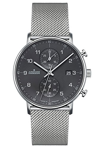 Junghans Herrenuhr Chronoscope Form C 041/4877.44