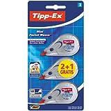 Tipp-Ex Mini Pocket Mouse Korrekturroller–Blisterpackung mit 2+ 1