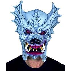 Ciao 30743 Horror Monstruo Dragón-Máscara de Látex, Personas, Varios Colores