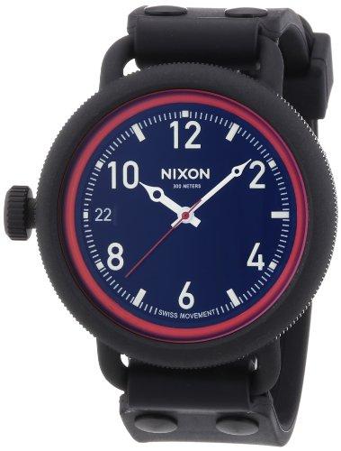 nixon-a488760-00-montre-mixte-quartz-analogique-aiguilles-lumineuses-bracelet-caoutchouc-noir