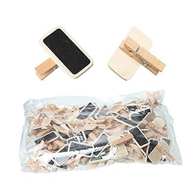 50 Stk. Mini-Tafelklammern EX204 von Mis. bei Du und dein Garten