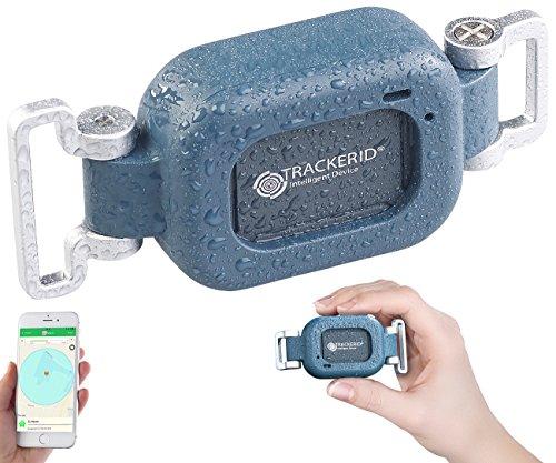 TrackerID Peilsender: WLAN-, GPS- & GSM-Live-Tracker mit App, Gegensprecher, Halterung, IP67 (WLAN Tracking App)