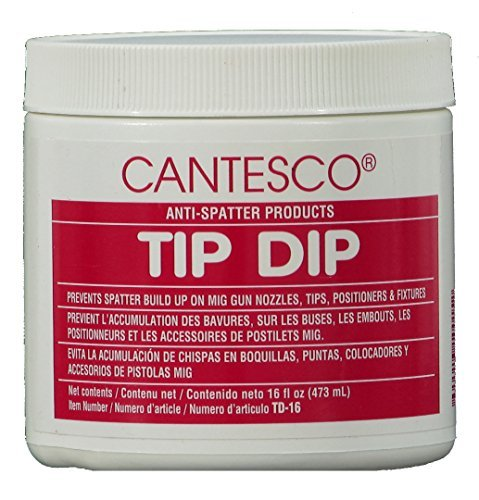 CANTESCO TD-16 Blue Premium Nozzle Tip Dip Plastic, 16 oz Jar by CANTESCO