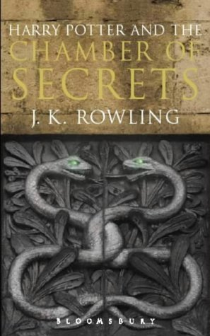 Harry Potter And The Chamber Of Secrets (book 2): Adult Edition: Written By J. K. Rowling, 2004 Edition, (uk Open Market Ed) Publisher: Bloomsbury Publishing Plc [paperback]