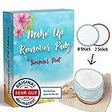 Premium Make Up Remover Pads by Summer Foot I Dermatologisch getestet I 10 Abschminkpads waschbar...