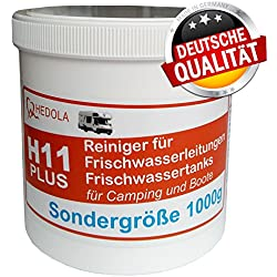 Hedola H11+ Sondergröße 1000g Frischwasser Tankreiniger Wohnmobil Wohnwagen