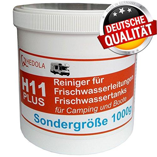 Hedola H11+ Sondergröße 1000g Frischwasser Tankreiniger Wohnmobil Wohnwagen (Wohnmobil Wasser Füllen)
