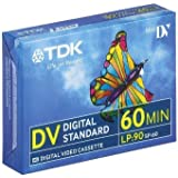 TDK DVM60 Mini DV Digital Camcorder Tape dv-m 60min