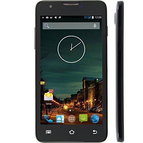 WeVool IRIS - Móvil 3G Android 4.4, Dual Sim Libre, 5.0