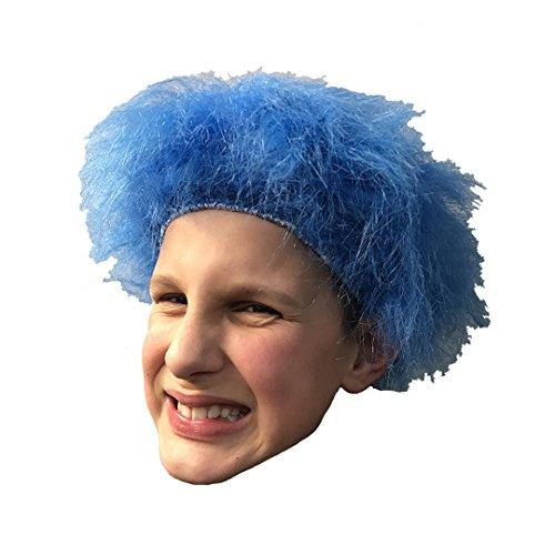 FANCY DRESS BLUE Perücke THING 1 THING 2 für CAT IN THE HAT-Kostüm