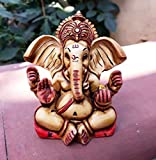 Collectible India Lord Ganesha Car Dashboard Idol Statue | Hindu God Ganesh Decor Sculpture | Home Decor Gift | Diwali Gifts