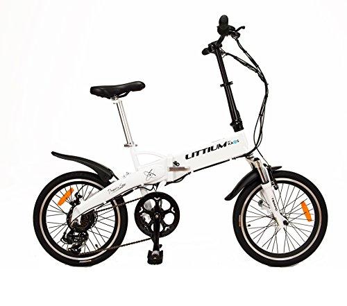 Littium By Kaos Ibiza LCD Bicicleta Eléctrica Plegable,...