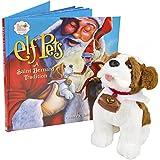 """Elf en el estante epsb """"un San Bernardo tradición"""" San Bernardo elfo mascotas"""