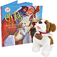 Elf On The Shelf Pets Reindeer and Saint Bernard collection