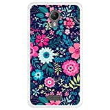 Hapdey Phone Case for [Wiko Jerry 2] design [Multicolor