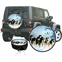 Funda para rueda de repuesto protectora Husky Perro de Trineo para su Jeep