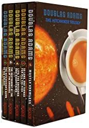 Hitchhiker's Guide to the Galaxy 5 Book Box Set