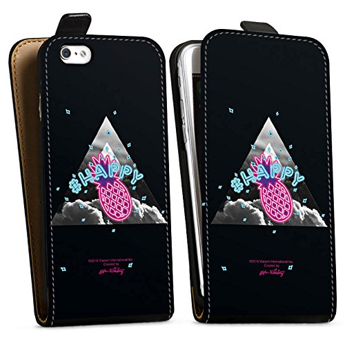 Apple iPhone X Silikon Hülle Case Schutzhülle Spongebob Fanartikel Merchandise Ananas Downflip Tasche schwarz