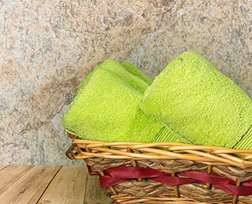 Nuestras excepcionales toallas de algodón egipcio 100% están tejidas a 600 g/m² con tecnología de algodón Aero, un proceso especial de giro que crea hilos extra largos con una mano lujosamente suave, una absorción superior y propiedades de secado ráp...