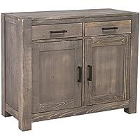 Comparador de precios Casa-Padrino Country Style Chest of Drawers Dark Brown 110 x 47 x H. 90 cm - Country Style Furniture - precios baratos