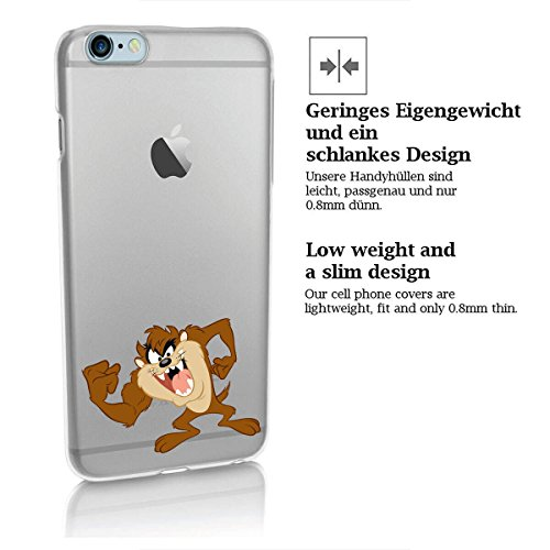 Custodia rigida looney tunes taz serie 2 iPhone - TAZ Aggressivo, Iphone 5/5S TAZ FORTE 3