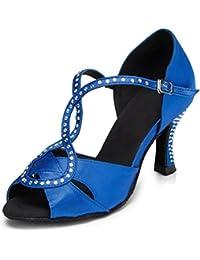 Miyoopark - Femmes Dansent Chaussures, Couleur Argent, Taille 35