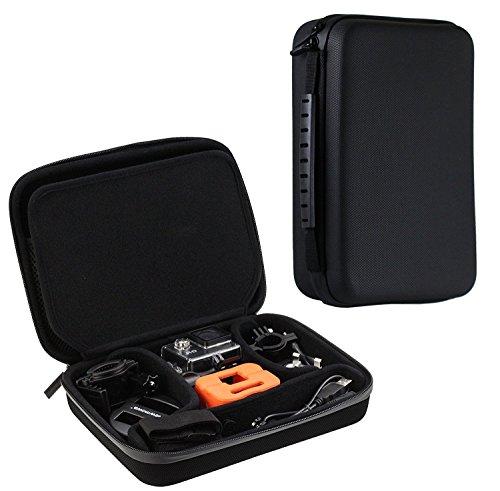 Preisvergleich Produktbild Navitech Schwarz Schock Sicheres harten Fall / Abdeckung / Gehäuse für das SJCAM SJ6 LEGEND AIR 4K Action Camera 16MP Touchscreen Dual-Display