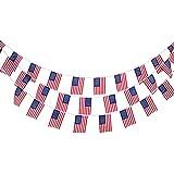 10m Banderole de Drapeaux de 30pcs de L'Australie/USA Décoration de Fête