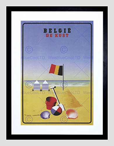 travel-coast-sun-sand-beach-flag-shell-belgium-vintage-advert-art-print-b12x1547