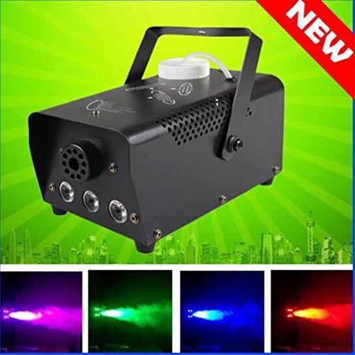 OOFAY LIGHT® Bühnenlicht LED 400w Nebelmaschine Rot, Grün und Blau Bunte Bühne Rauch Maschine Bar KTV Show
