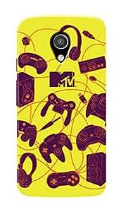 MTV Gone Case Mobile Cover for Motorola Moto G2