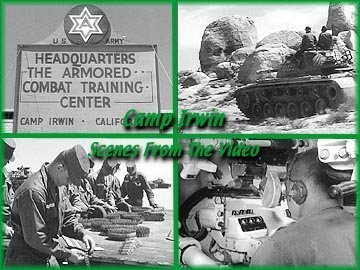M48 Tank & Camp Irwin: Armored Combat Training Center, California -