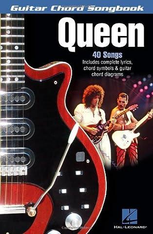 Queen: Guitar Chord Songbook (Guitar Chord Songbooks)