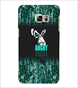 PrintDhaba Angry Face D-4972 Back Case Cover for SAMSUNG GALAXY NOTE 5 (Multi-Coloured)