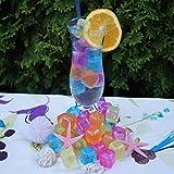 esto24- Party Eiswürfel aus Kunststoff Wasserfüllung wiederverwendbar