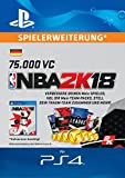 NBA 2k18 75,000 VC-Pack [PS4 Download Code - deutsches Konto]