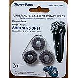 Têtes de rasage Philips alternative modèle SH50 SH70 SH90 (tient dans) pour Philips / Norelco shavers.