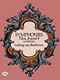 Beethoven Symphonies Nos. 8 And 9 (Full Score) Orch (Dover Music Scores) by Various (14-Nov-1997) Paperback