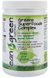 Greens Superfoods Complex 300g - formule alcalinisant provenant de la chlorelle, spiruline, herbe de blé et complexe Policosanol