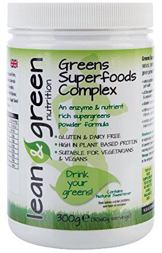 Greens Super Foods Complex 30 Day Supply - A Unique Gluten Free Super Greens Powder Test