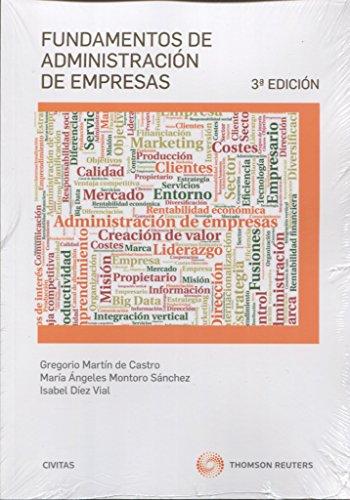 Fundamentos de Administración de Empresas (3 ed. - 2016) (Tratados y Manuales de Empresa)
