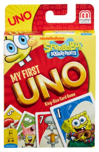 Spongebob Squarepants My First UNO Card Game by Mattel