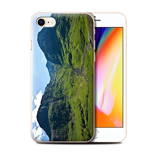 Stuff4 Hülle / Case für Apple iPhone 8 / Loch/Felsen Muster / Schottisch Landschaft Kollektion Tal