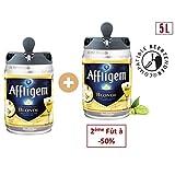 Bière - AFFLIGEM Lot de 2 Fûts de biere - Compatible Beertender - 6,7° - 5 L